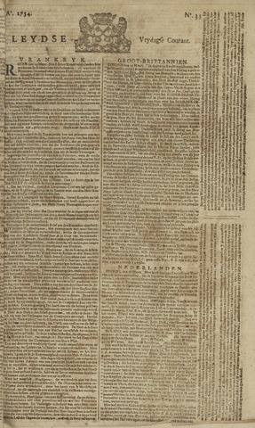 Leydse Courant 1754-03-22