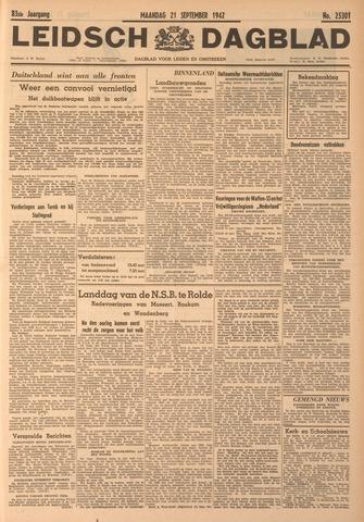 Leidsch Dagblad 1942-09-21