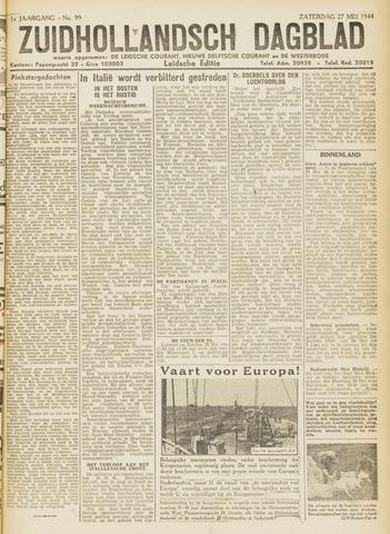 Zuidhollandsch Dagblad 1944-05-27
