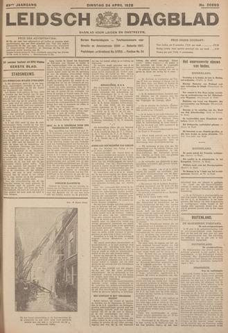 Leidsch Dagblad 1928-04-24