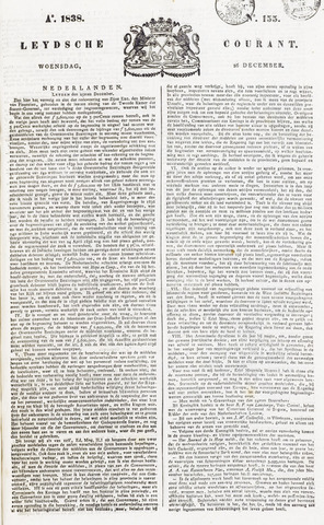 Leydse Courant 1838-12-26