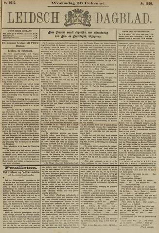 Leidsch Dagblad 1890-02-26