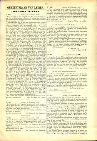 Handelingen van de Raad 1899-11-20