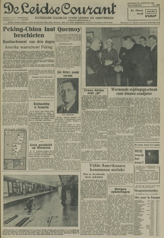 Leidse Courant 1958-08-25