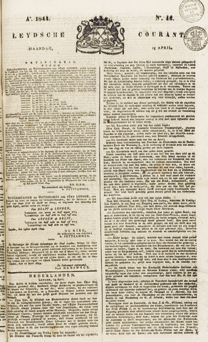 Leydse Courant 1844-04-15