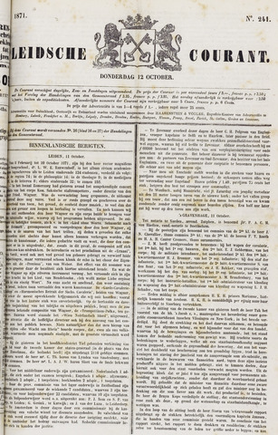 Leydse Courant 1871-10-12