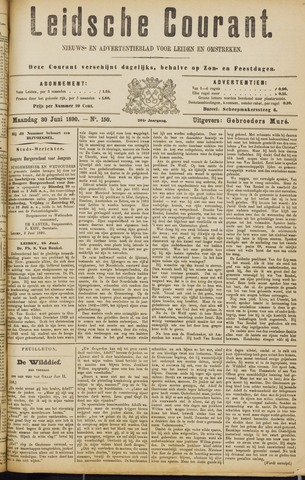 Leydse Courant 1890-06-30