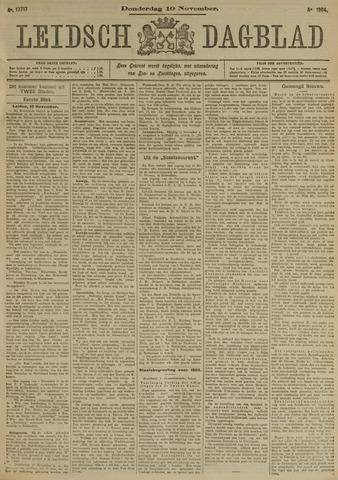 Leidsch Dagblad 1904-11-10