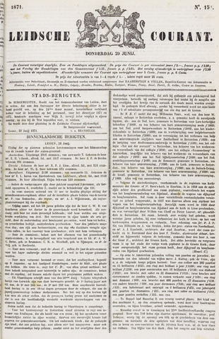 Leydse Courant 1871-06-29