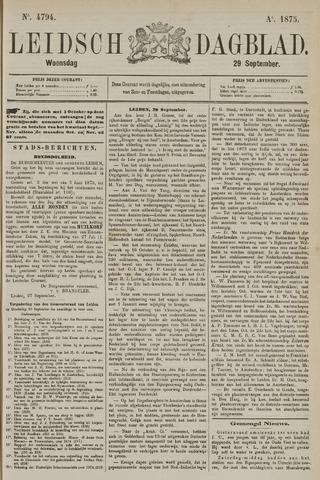 Leidsch Dagblad 1875-09-29