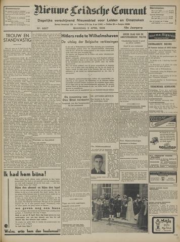Nieuwe Leidsche Courant 1939-04-03