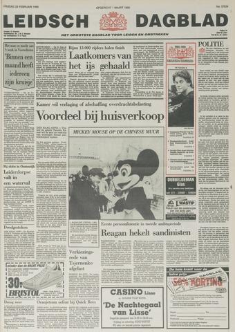 Leidsch Dagblad 1985-02-22