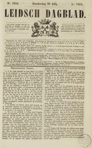 Leidsch Dagblad 1863-07-30