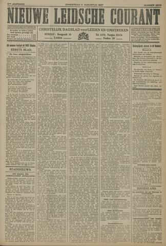 Nieuwe Leidsche Courant 1927-08-11