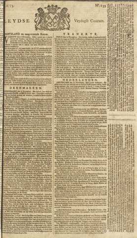 Leydse Courant 1773-11-19