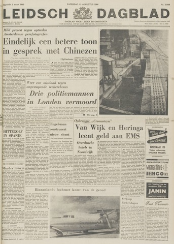 Leidsch Dagblad 1966-08-13