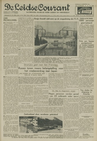 Leidse Courant 1951-08-14