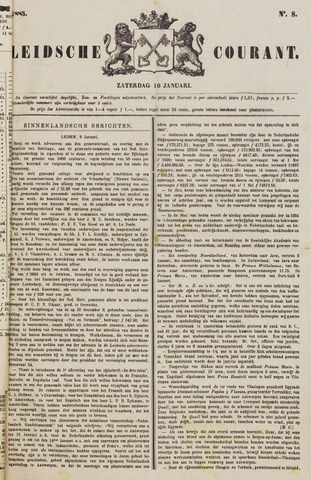Leydse Courant 1885-01-10
