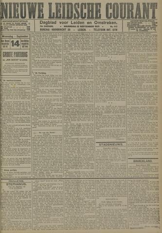 Nieuwe Leidsche Courant 1921-09-12