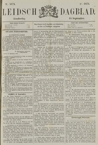 Leidsch Dagblad 1873-09-18