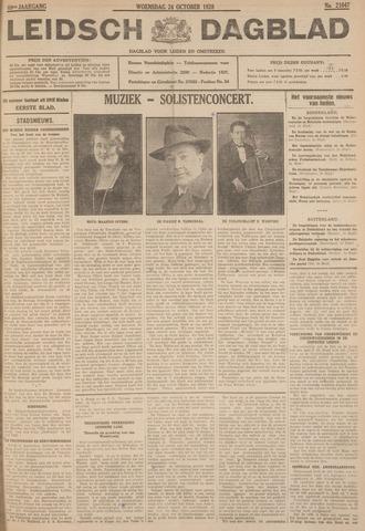 Leidsch Dagblad 1928-10-24