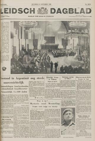 Leidsch Dagblad 1955-09-21