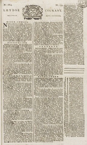 Leydse Courant 1814-10-31
