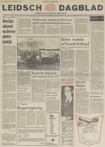 Leidsch Dagblad 1977-08-10