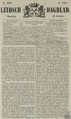 Leidsch Dagblad 1867-10-28