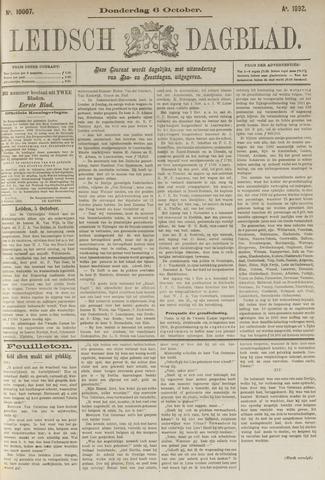 Leidsch Dagblad 1892-10-06