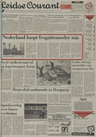 Leidse Courant 1989-08-14