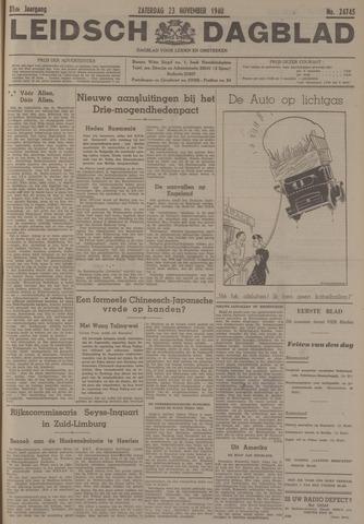 Leidsch Dagblad 1940-11-23