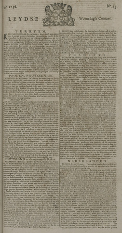 Leydse Courant 1736-02-22