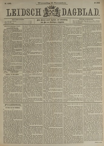 Leidsch Dagblad 1896-11-11
