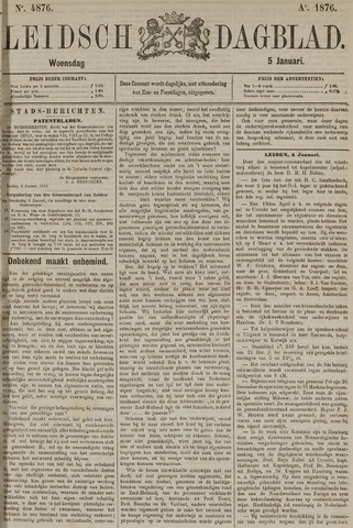Leidsch Dagblad 1876-01-05