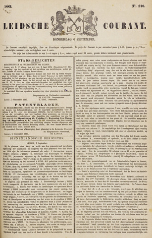 Leydse Courant 1883-09-06