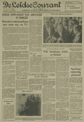 Leidse Courant 1961-08-23