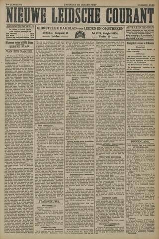 Nieuwe Leidsche Courant 1927-01-22