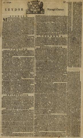 Leydse Courant 1750