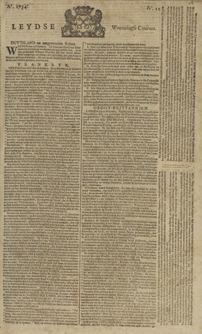 Leydse Courant 1754-02-20