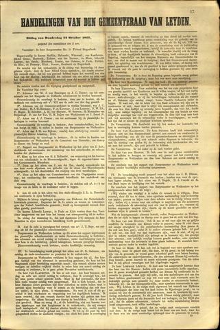 Handelingen van de Raad 1862-10-23