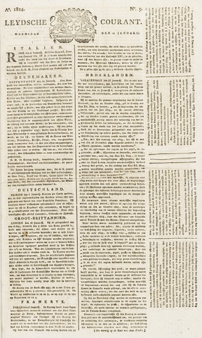 Leydse Courant 1824-01-21