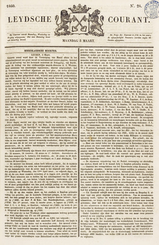 Leydse Courant 1860-03-05