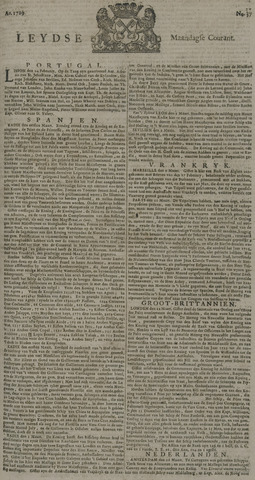 Leydse Courant 1729-03-28