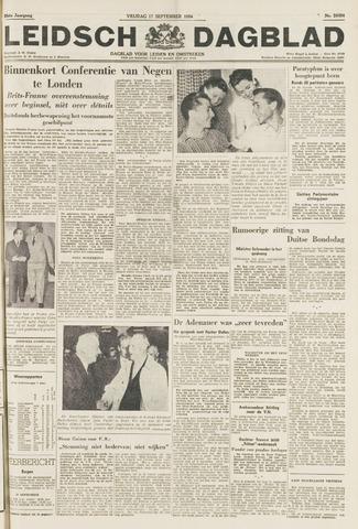 Leidsch Dagblad 1954-09-17