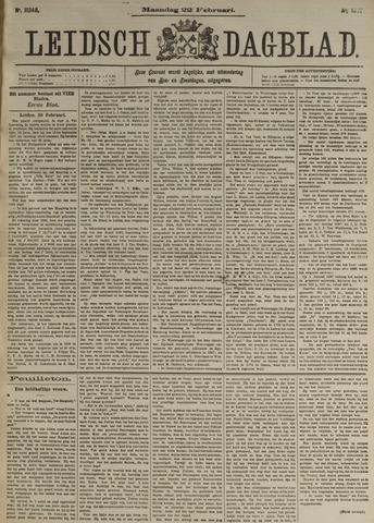 Leidsch Dagblad 1897-02-22