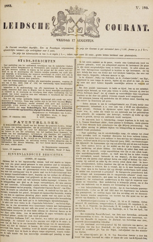 Leydse Courant 1883-08-17