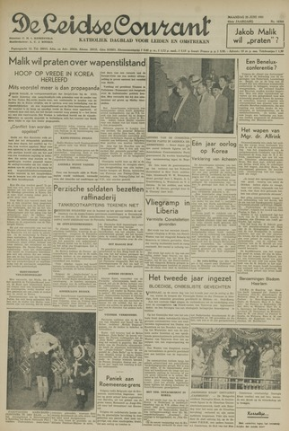Leidse Courant 1951-06-25