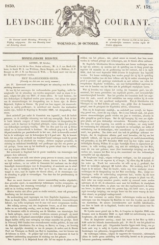 Leydse Courant 1850-10-30
