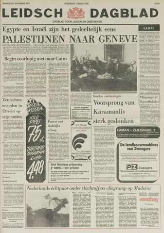 Leidsch Dagblad 1977-11-21